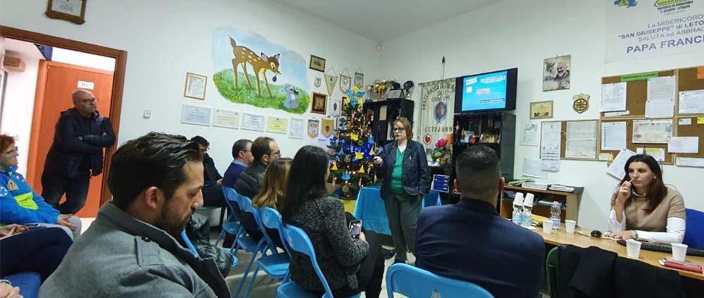 Presentazione Libro Daria Caminiti Misericordia a Letojanni