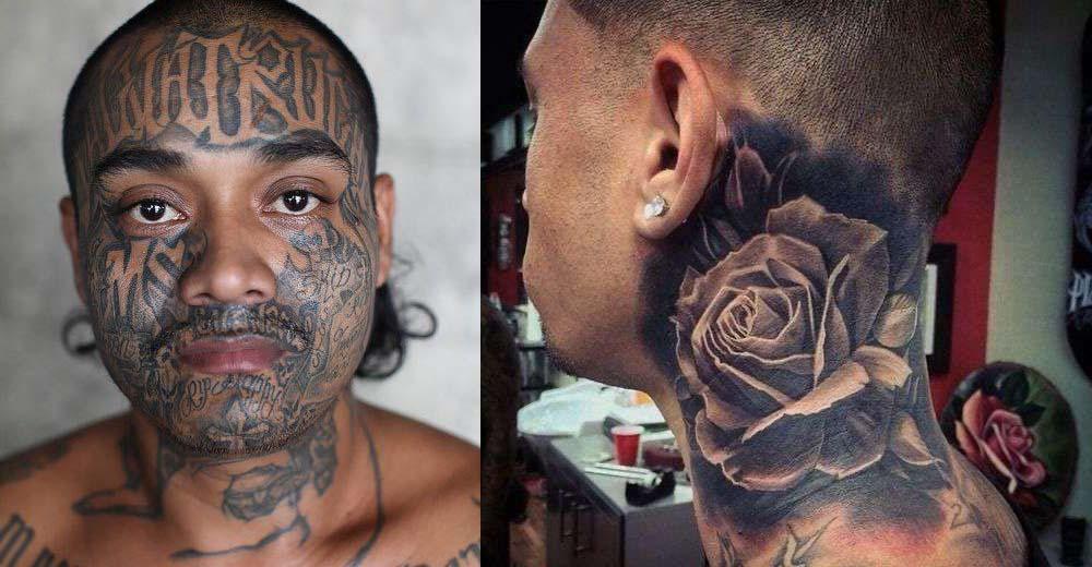 Tatuaggi viso e collo e acufene